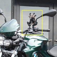Ogólna jakość plastikowa kierownica motocyklowa uchwyt do montażu na szynie uchwyt na telefon Smartphone dla iPhone
