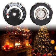 1 шт. Магнитный термометр для печи алюминиевый термометр для камина термометр для домашней плиты вентилятор для камина термометр высокая точность