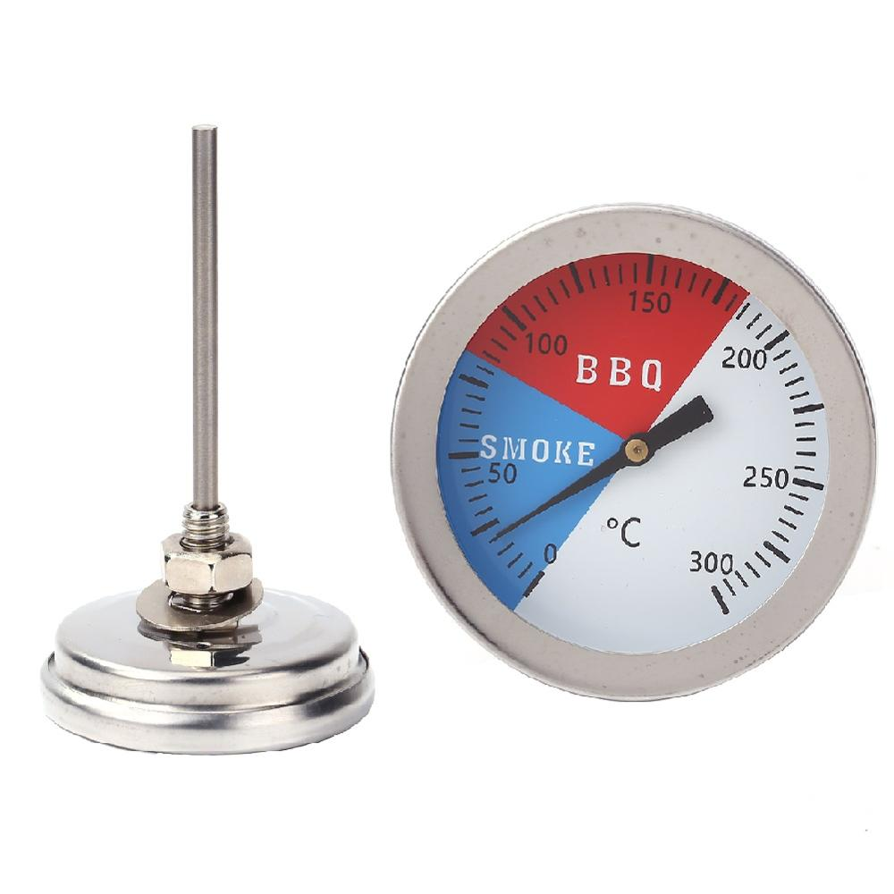 300 grad <font><b>Thermometer</b></font> BBQ Rauch Grill Ofen Temperatur Gauge Outdoor Camp Werkzeug N24 dropship image