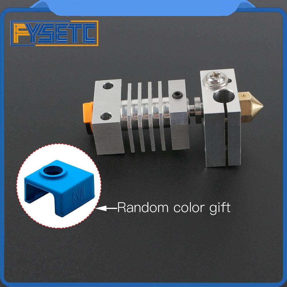 cr10 dissipador de calor todo o metal hotend kit atualizacao titanio disjuntor garganta para cr 10