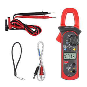 UNI-T UT204A Digital Clamp Multimeters Auto Range Temperature AC DC Clamp Meter Meter Unit Ammeter Voltmeter