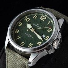 GB 1963 männer automatische Mechanische Uhr NH35 Sport Super Leucht Special Forces Military Pilot Männer Uhren Kalender Uhr