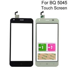 Touch Screen Glass For BQ Mobile BQS-5045 BQS 5045 Touch Screen Digitizer Panel Repair 5.0'' Mobile Phone Tools 3M Glue недорого