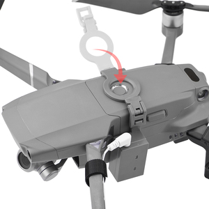 Image 3 - Airdrop Air Drop System for DJI Mavic 2 Pro Zoom AIR 2 Drone Fishing Bait Wedding Ring Gift Deliver Life Rescue Throw Thrower
