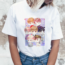 Women's T-shirt Jungkook Kpop T-shirt Suga J Hope Ms. Jin JIMIN V T-shirt K popular Korean T-shirt printed female T-shirt K-pop