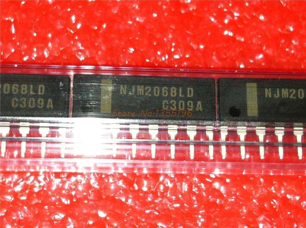 1pcs/lot NJM2068LD NJM2068 SIP-8 In Stock