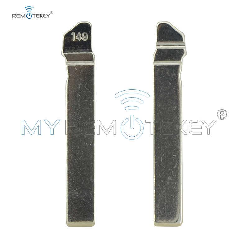 Remtekey 5 шт. замена флип Floding удаленный ключ лезвие HU162T для VW Golf 7 иммобилайзер uncut Blade
