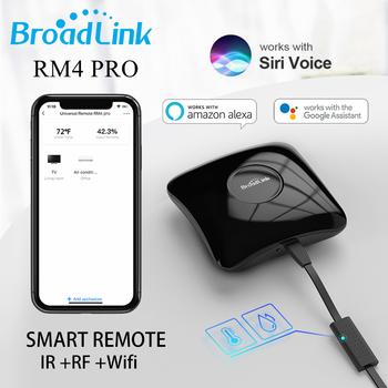 BestCon BroadLink RM4 Pro RM4 MINI Wifi przełącznik 4G IR RF kontroler inteligentny pilot inteligentny gadżet wsparcie Alexa Google tanie i dobre opinie Rohs CN (pochodzenie) UE Wtyczka Gotowa do działania MIGAJĄCE 12 kanałów i up Universal Intelligent Remote Controller