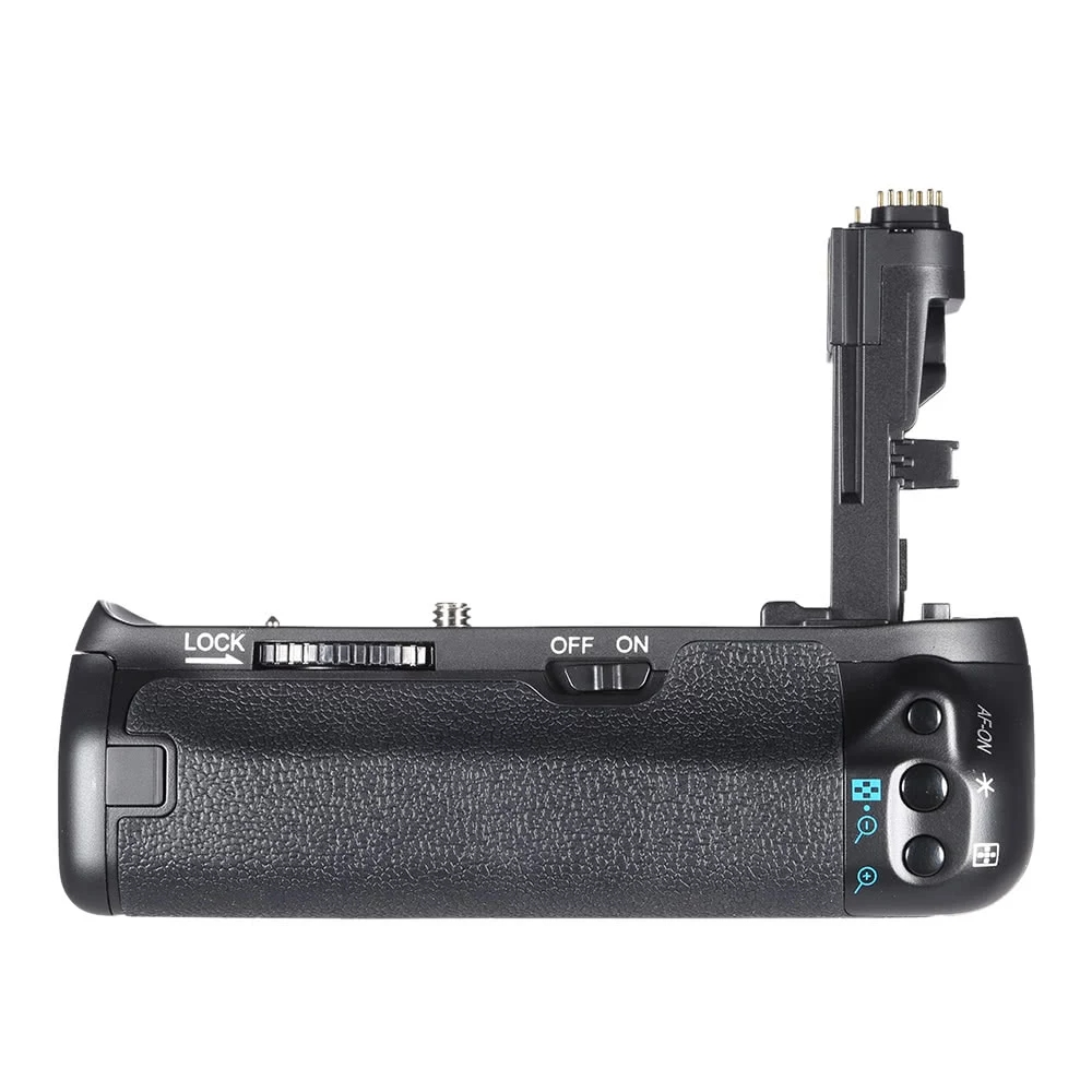 MEKE Meike MK-70D Vertical Multi-Power Pack <font><b>Battery</b></font> <font><b>Grip</b></font> Holder Replacement of BG-E14 for Canon EOS 70D <font><b>80D</b></font> image