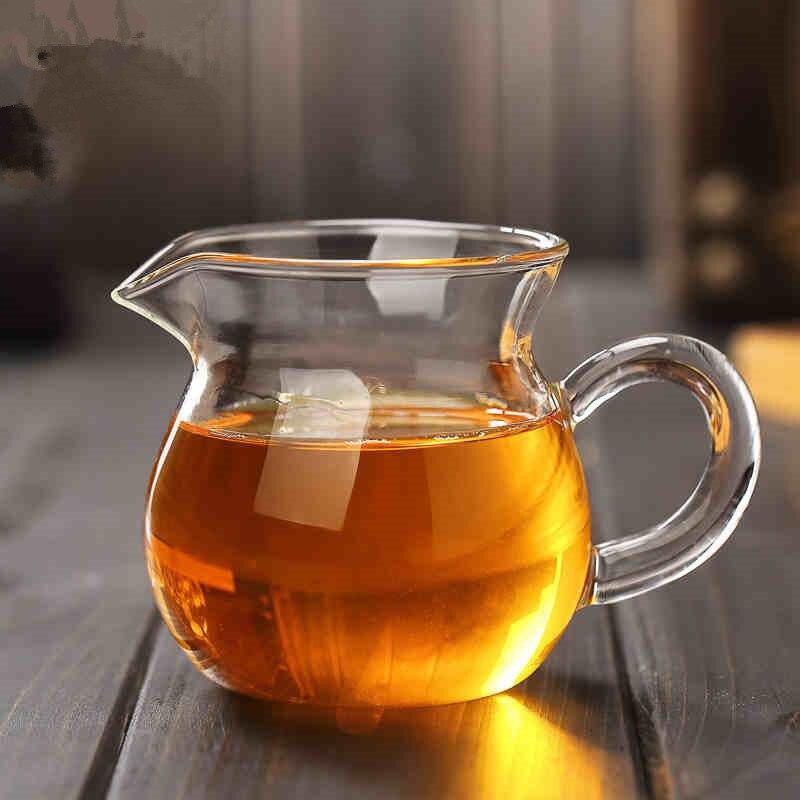Heat-resistant Glass Pitcher Kung Fu Tea Set Tea Pitcher Public Cup Glass Tea Pot Tea Ceremony Accessories Manufacturers Wholesa