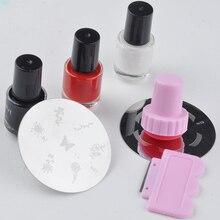 Manicure DIY For Women Scraper Accessories Silicone Home Art Salon Printing