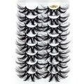 8 пар 25 мм 4D норковые накладные ресницы толстые драматические блесны пушистые наращивание ресниц макияж объем ручной работы искусственные ...
