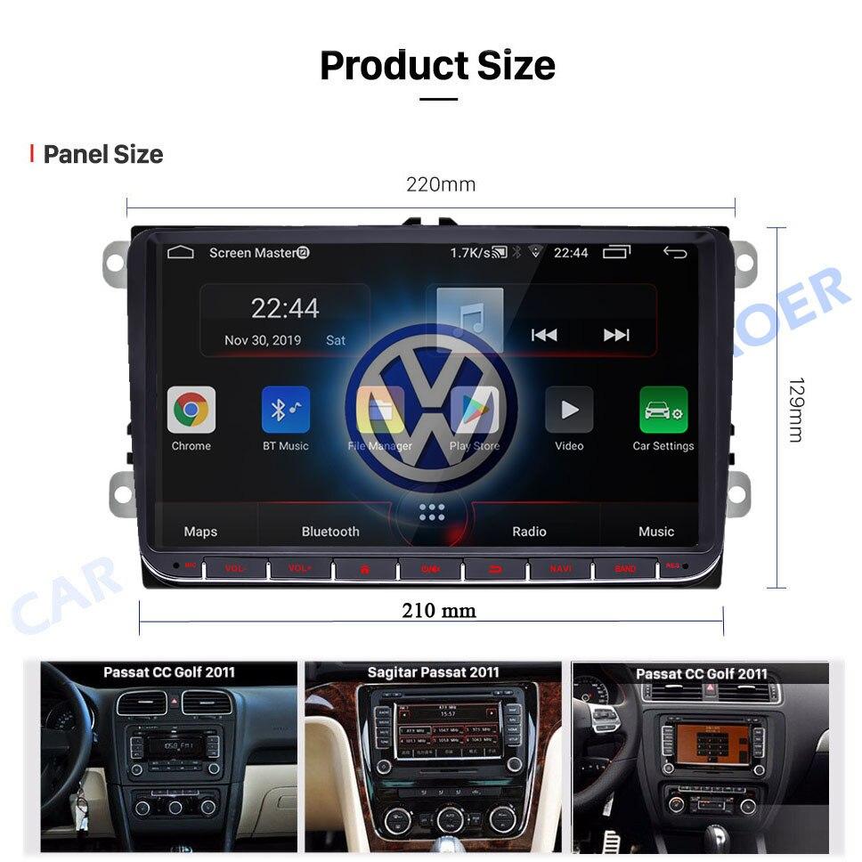 2 din android Volkswagen 7