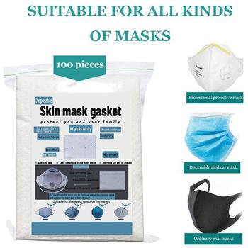 100pcs Disposable Filter Pad for Kids Adult Face Mouth Mask Respirator Anti-dust Masks