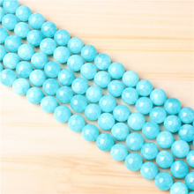 Blue Sky River Stone 4/6/8/10 mm Natural Stone Bead Round Bead Spacer Jewelry Bead Loose Beads For Jewelry Making DIY Bracelet