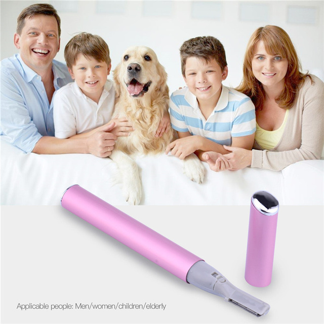 Mini Women Ladies Electric EyeBrow Trimmer Razor Clipper Maquiagem Epilator Body Face Hair Remover Shaver Removal Beauty Tool 1