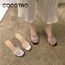 Half The Slippers Women Wear New 2019 Summer Han Edition Web Celebrity Diamond Fine With Joker Sandals A Word28