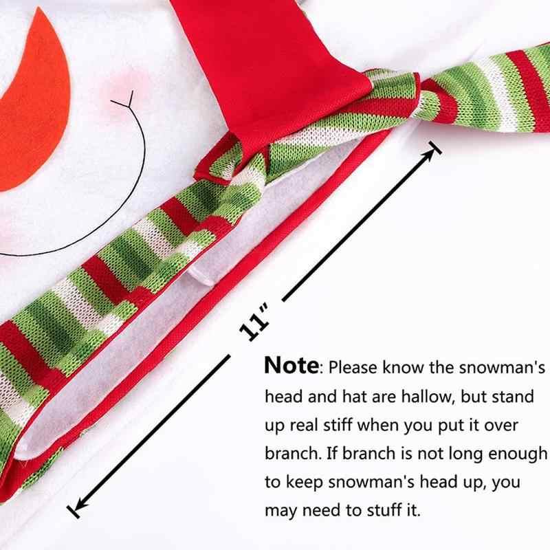 عيد الميلاد ثلج عيد الميلاد شجرة كاب أفضل قبعة الديكور ثلج الكافور الديكور عيد الميلاد حزب عطلة الديكور