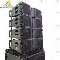 KR208 double 8 inch woofer 3 inch driver with single 18 inch bass Professional Outdoor Stage line array sound speaker