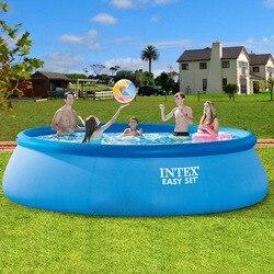 INTEX надувной детский бассейн для малышей, детский бассейн для дома, для взрослых, большой толстый бассейн