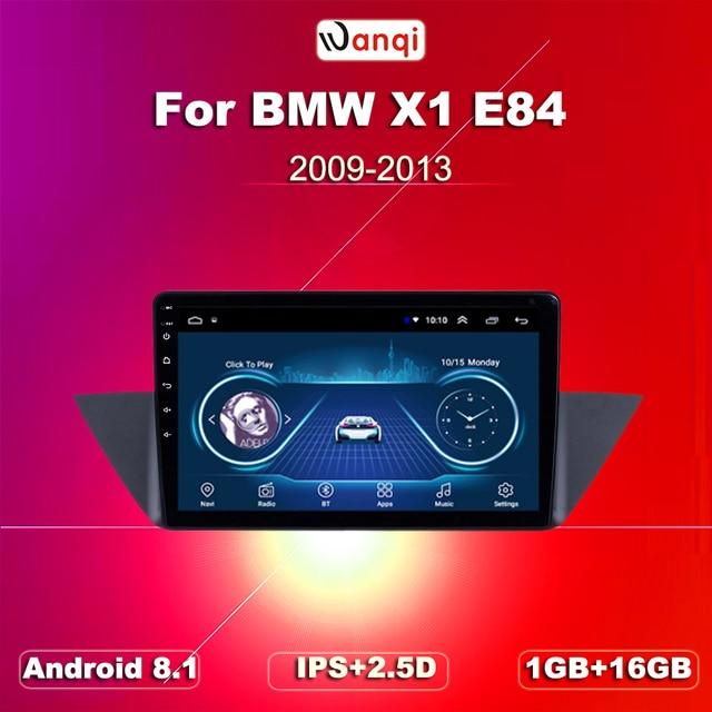 Android 8.1/voiture navigation GPS | Pour 2009-2013 BMW X1 E84 radio 9 pouces HD 1024*600 prise en charge dautoradio Wifi