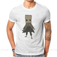 Maglietta trasparente Mono O collo piccoli incubi Horror Adventure Game Nomes maglietta originale in puro cotone top da uomo moda