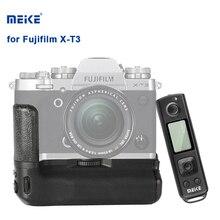 Meike X-T3 Pro Батарейная ручка для Fujifilm Fuji XT3 держатель камеры ручка с 2,4G беспроводной пульт дистанционного управления и двойные батареи MK-XT3