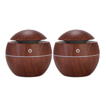 Essential Oil Diffuser (2 Pieces), Aroma with LED Light, Diffuser, Plug-In Air Freshener, Aromatherapy Oi