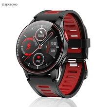 Senbono S20 IP68防水スマート腕時計フィットネストラッカー心拍数モニタースマート時計男性女性新スマートウォッチandroid ios