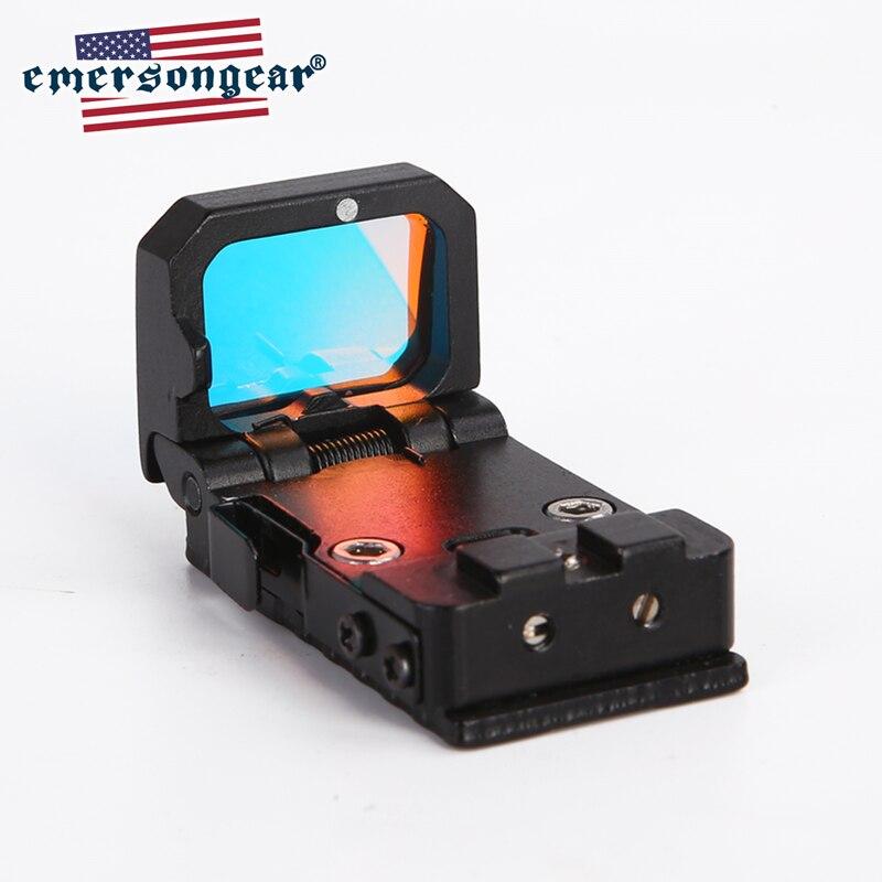 Emerson Red Dot Rifle Scope Micro Reflex Holographic Sight RMR Optics Hunting Scopes Airsoft Pistol Mini