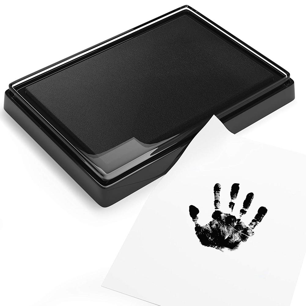 Baby Hand Foot Ink Hand Foot Print Handprint Oil Souvenir Child Hundred Days Gift Safe Ink Pad Non-Toxic Baby Footprint Foot Ink