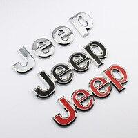 Внедорожный джип автомобильные наклейки Mumaren Grand Cherokee Compass Freedom легковой автомобиль логотип автомобиль Tag