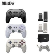 8bitdo SN30 PRO + Joystick Sans Fil Bluetooth À Distance Contrôleur de Jeu Gamepad pour Windows/Android/macOS/Nintendo Switch(China)