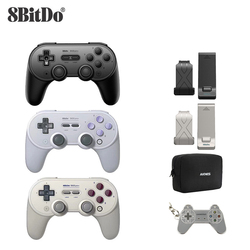 Mando de juego remoto Bluetooth 8bitdo SN30 PRO + Joystick inalámbrico para Windows/Android/macOS/Nintendo Switch