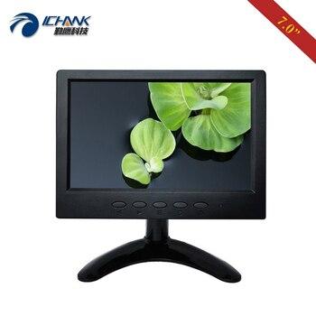 "B070JN-ABHV/7"" inch 1024x600 Portable Built-in Speaker HDMI AV BNC Monitor For Microscope, Endoscope, Raspberry Pi, PS3 4, Xbox"
