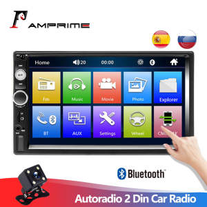 Amprime Multimedia-Player Autoradio Touch-Screen Rear-View-Camera Bluetooth Dash-Mp5