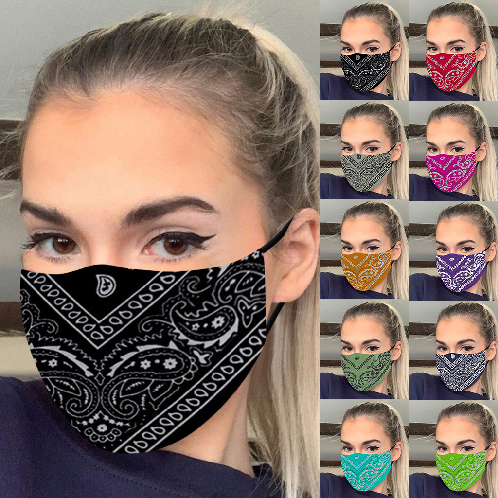 Women Men Outdoor Sports Bandana Scarf Headwear Face Mask Riding Camping Cycling Headscarf Tube Wristband Headband Cool 1
