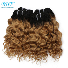 Hair-Curl Bundles Deep-Weave Funmi Remy BHF Brazilian 100%Human-Hair 4pcs/Lot Can-Make-A-Wig
