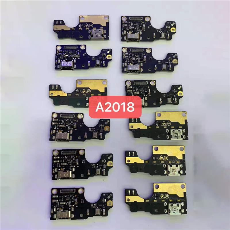 USB Charger Board For ZTE Axon 7S <font><b>A2018</b></font> A 2018 USB Charging Port Dock Plug Connector Flex Ribbon Cable image