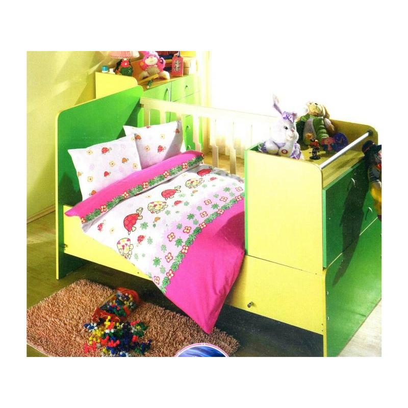 Фото - Bedding Set for baby ALTINBASAK, NESELI, pink bedding set for baby altinbasak dream garden