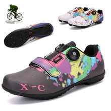 New Bicycle Sneakers Men Road Mountain Biking Shoes Triathlon Sapatilha Ciclismo Outdoor Sports Self-locking MTB Cycling Shoes(China)