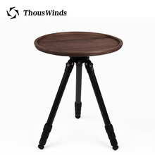 Thous Winds outdoor camping solid wood round table photography tripod DIY round table