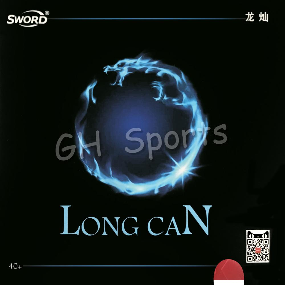 Sword LONG CAN 40+ Short Pips-Out Table Tennis Rubber With Sponge