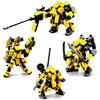 Mecha Warrior Robot Building Blocks Kids Toy Figure Model Kits Toys For Children Assemble Bricks Action Anime Soldier Dolls