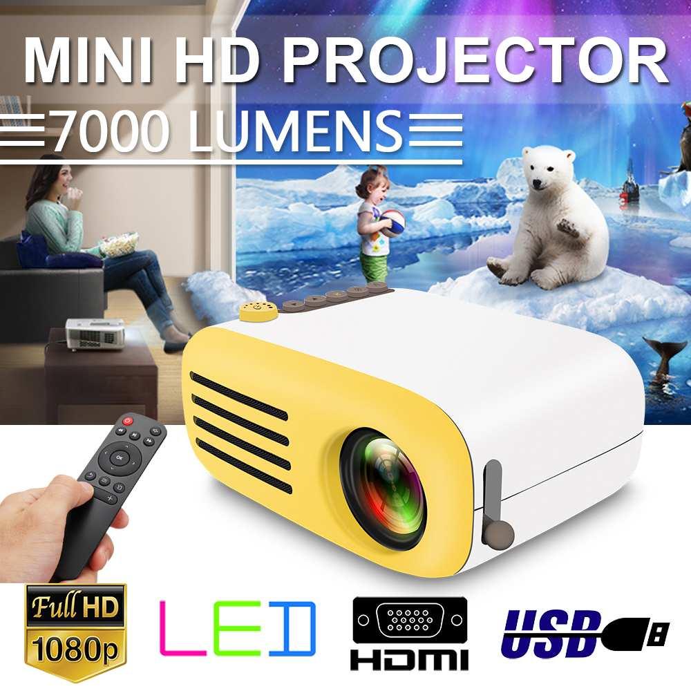 Offre spéciale projecteur à LED portable Mini HD projecteur YG200 USB HDMI vidéo film jeu Home cinéma vidéo projecteur enfants cadeau