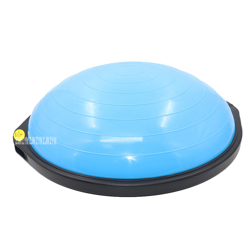 64cm PVC Yoga Balance Ball Professional Pilates Bosu Ball Fitness Balance Training Half Ball Fitball Yoga Halfsphere Semisphere