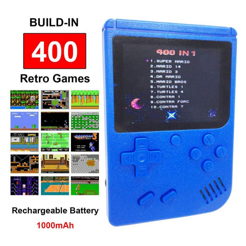 Handheld Video Games Console Built-in 400 Retro Classic Games 3.0 Inch Screen Portable Gaming Player Machine for FC Game kk