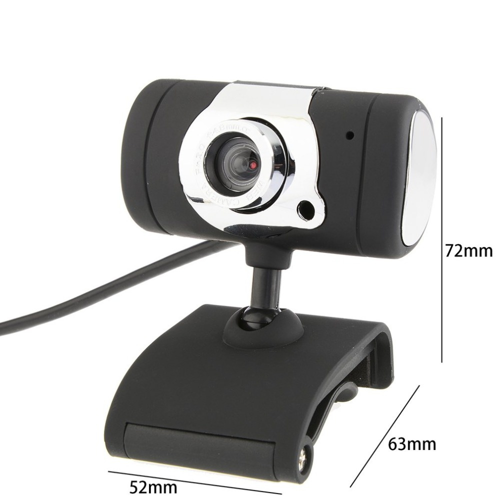 720P HD USB Webcam Computer Camera with Automatic White Balance and Automatic Color Correction 5