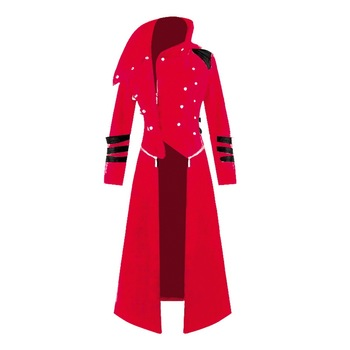 2019 NEW Men Cosplay Costume Party Vintage Royal Style Trench Coats Retro Gothic Steampunk Long Coats Palace Gentlemen Costume