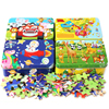 New 60 Pieces Wooden Puzzle Kids Toy Cartoon Animal Wood Jigsaw Puzzles Early Christmas Gift  Puzzle  Jigsaw Puzzle Wooden Toys